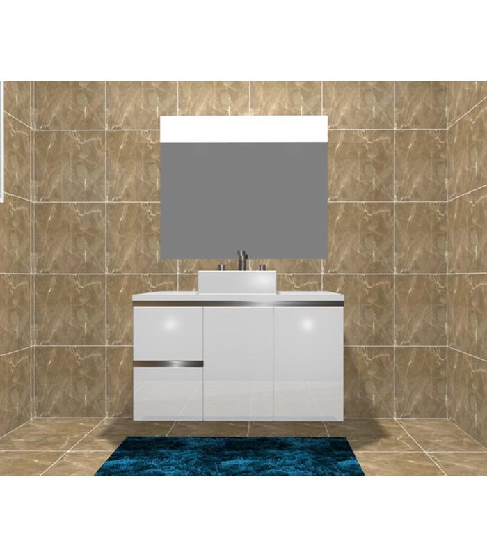 movel casa de banho lacado
